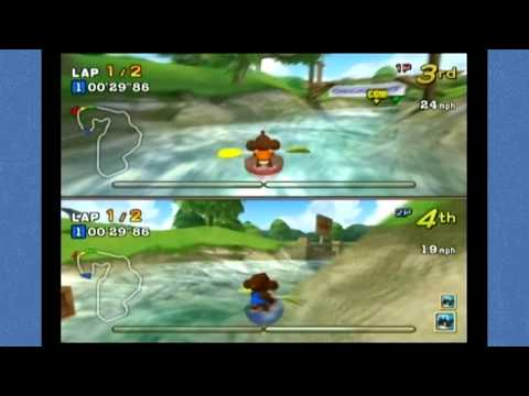 Super Monkey Ball 2: Party Games - Monkey Boat
