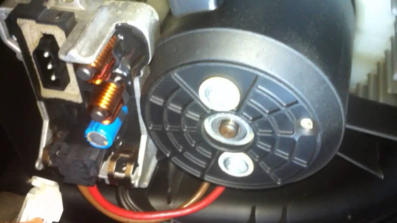 diy bmw   air conditioner squeak noise fix blower