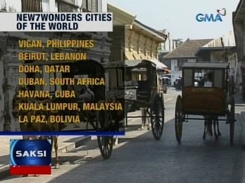 Saksi: Vigan, pasok sa New7Wonders Cities of the World