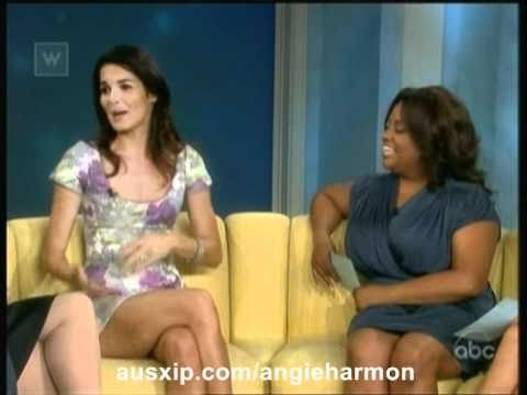 Angie Harmon on The View
