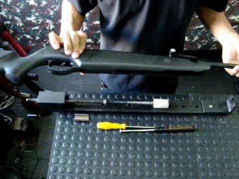 Instalação mola a gas (Gas Ram) SMS Airguns em Norica Dragon (em menos de 10 min.)