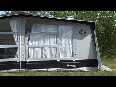Guide til opstilling af fortelt til ældre campingvogne - Isabella Opus