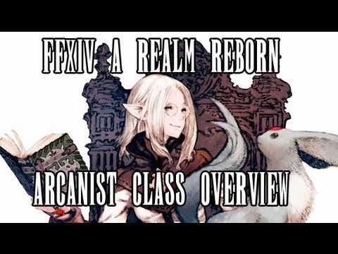 FFXIV ARR 101 Episode 7: Archer Class Overview (Beta Phase 3, No ...