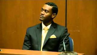 Conrad Murray Trial - Day 2, September 28, 2011 - Michael Amir Williams (1 of 10)
