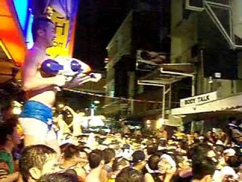 Songkran very gay at Silom soi 4 Bangkok 2011 曼谷潑水節非常Gay