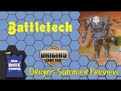 Origins Summer Preview: Battletech