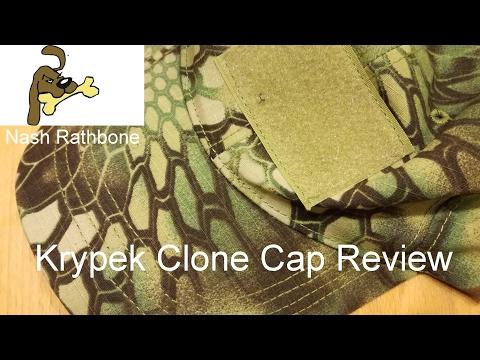 Kryptec Camo Clone Cap review
