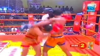 Kun Khmer, Bird Sangkhim Vs Thai, Vigo Sor Denchhai, MyTV boxing, 14 July 2017, Gaznberg Uber Fighte