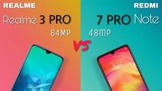 Realme 3 pro vs Redmi note 7 pro! Full detailed comparison!🔥