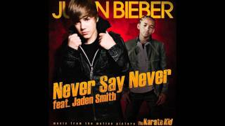download lagu Justin Bieber - Never Say Never Instrumental gratis
