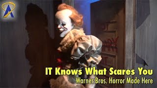 IT Haunted House - It Knows What Scares You at Warner Bros. Horror Made Here