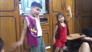 Chinta ta ta chita - Rowdy Rathore song very cute dance video