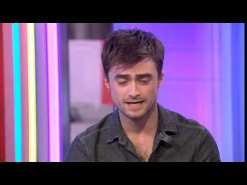 Daniel Radcliffe BBC The One Show 2014