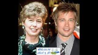 Celebrities and their mothers