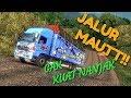 Sopir Truck ini Nekat Lewat Jalan Ekstream Di Sumatra | ETS2 Indonesia