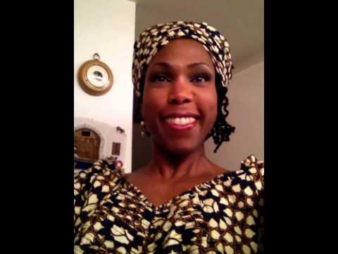 Make up for mature black women - Nigerian Celebrations FOTD