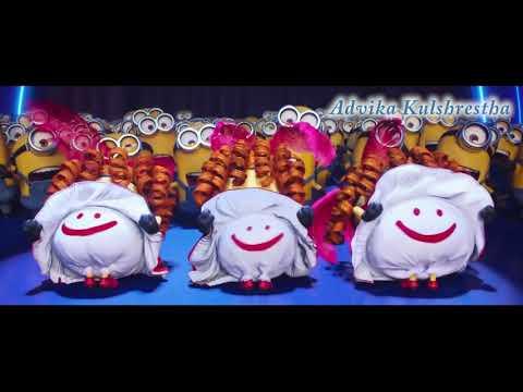 Minion Dancing & Singing| Yaar Manana Ni | Advika Kulshrestha