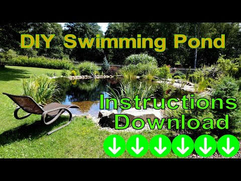 DIY Swimming Pond