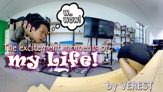 [3D 360 VR] The excitement moments of my life! (1st. Office) Ep.1