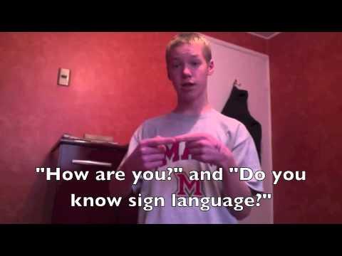 Teen Polyglot Challenge: American Sign Language