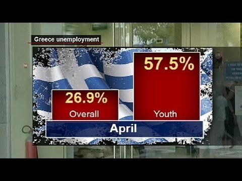 Greeks unemployment hits new high - economy