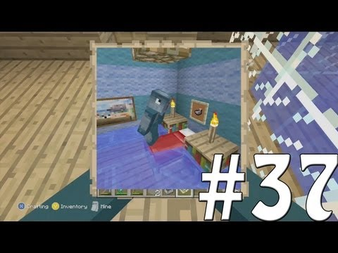 Minecraft Xbox - Sky Island Challenge - Embarrasing Photo's!! [37]
