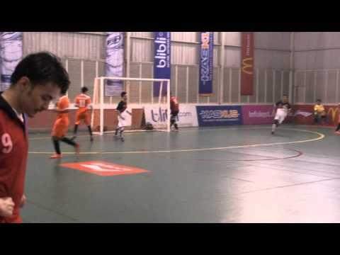 Futsal LIMA 2014 :  Univ. Pelita Harapan  vs  USAKTI  part  II