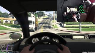 GTA V НА РУЛЕ (LOGITECH DRIVING FORCE GT)