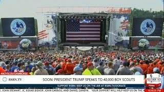FULL SPEECH: President Trump Speech to 40,000 Boy Scouts at National Scout Jamboree by : Right Side Broadcasting Network