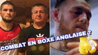 CONOR MCGREGOR défié PAR LE PERE DE KHABIB POUR UN COMBAT DE BOXE ! + FLOYD CONTRE KHABIB