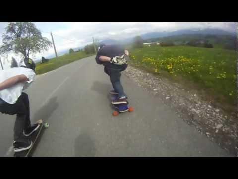 Salève spot-Geneva Longboarders