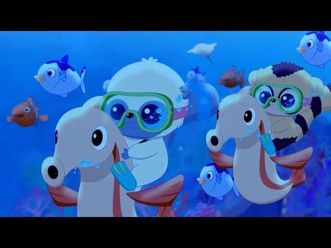 Мультфильмы для детей - ЮХУ И ЕГО ДРУЗЬЯ - Поиски корабля сокровищ