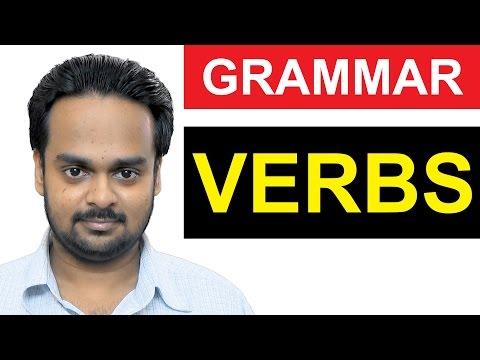 VERBS - Basic English Grammar - What is a VERB? - Types of VERBS - Regular/Irregular - State, Action MP3
