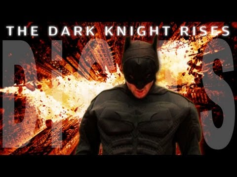 THE DARK KNIGHT RISES OFFICIAL DIGITS EPISODE (DiGiTS Show)