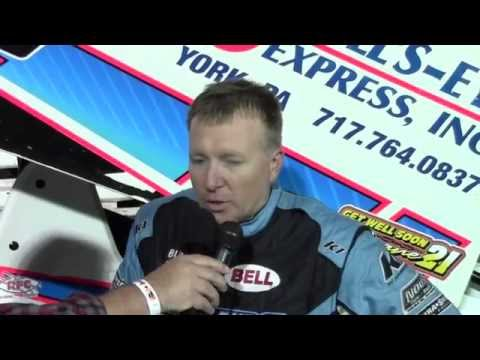 Williams Grove Speedway 358 Sprint Car Champions Interview 10-18-14