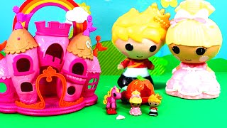 Lalaloopsy Tinies : Sew Royal Castle Playset unboxing and review