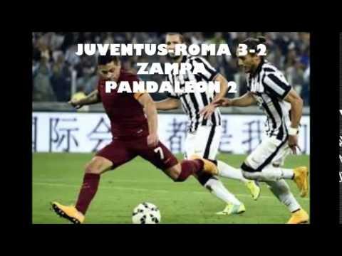 JUVENTUS-ROMA 3-2 commento di CARLO ZAMPA (05\10\2014)
