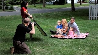 How to Shoot Family Portraits Outdoors | Portrait Photography