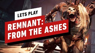 9 Minutes of Remnant: From the Ashes - Rhom Dungeon Gameplay