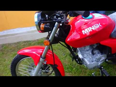 Купили новый мотоцикл M1NSK D4 125.
