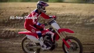 The All New Honda CRF450R 2017... With Electric Start!