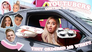 YOUTUBERS CONTROL MY MCDONALDS ORDER FOR 24 HOURS!
