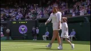 Marion Bartoli back on Centre Court - Wimbledon 2014