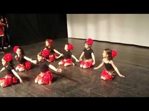 Muş 75.Yıl Kelebekler dans gösterisi 23 Nisan 2013