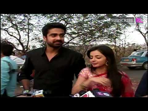 On location of serial Iss Pyaar Ko Kya Naam Doon 24th March |...