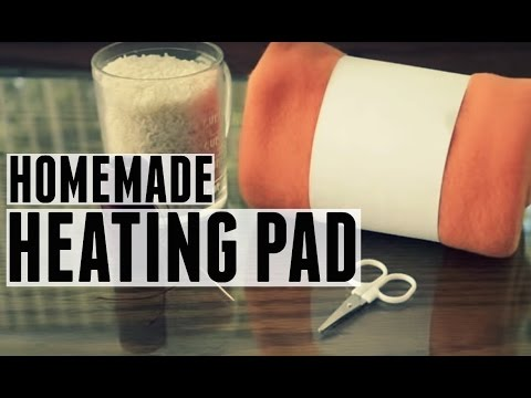 DIY Rice Bag: Homemade heating pad