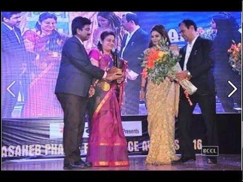 DrSaravanan DrMahalakshmi ARC Fertility India receives Dadasaheb Phalke Excellence awards 2016