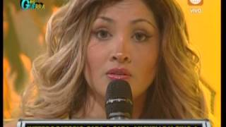 MICHELL SOIFER DISCUTE CON JAZMIN PINEDO