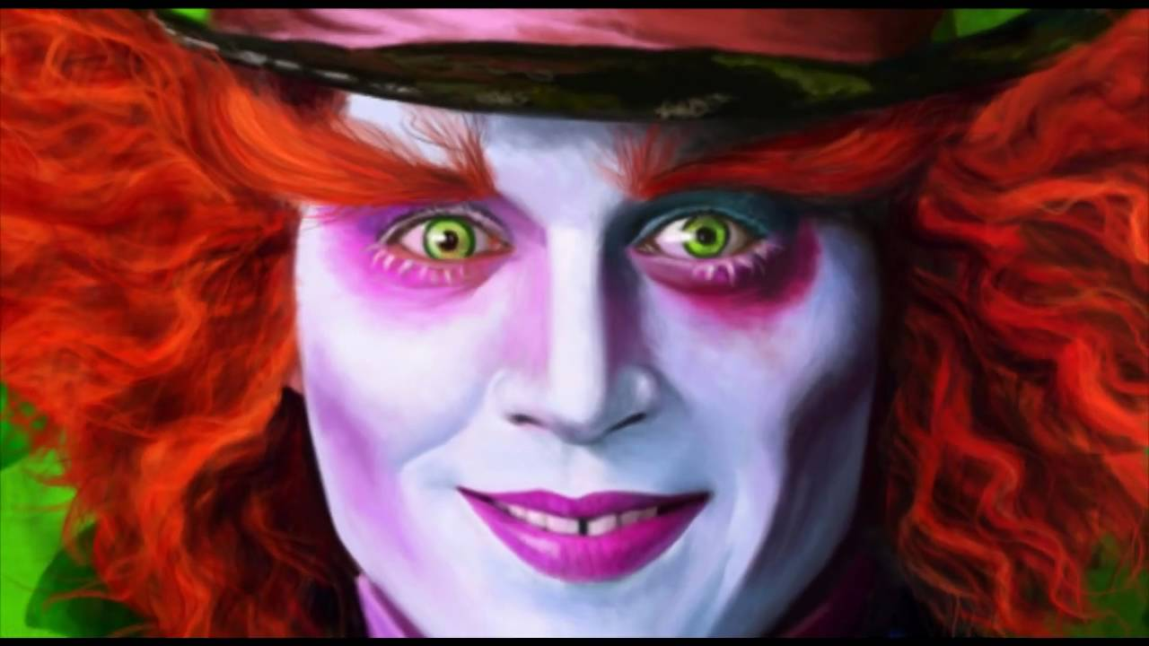 Mad Hatter Face Paint Ideas