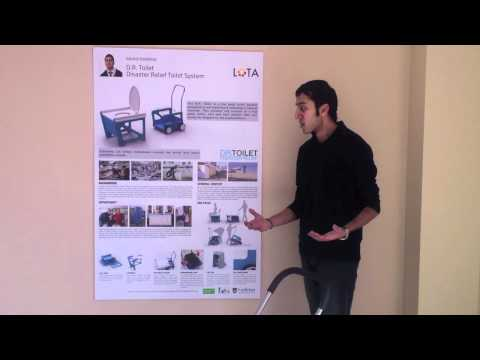 James Dyson Award 2011 - D.R Toilet - Disaster Relief Toilet